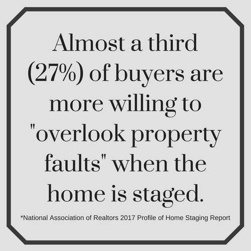home staging statistic overlook faults
